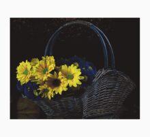 Basketful of flowers Kids Tee