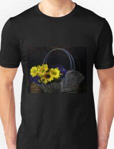 Basketful of flowers T-Shirt