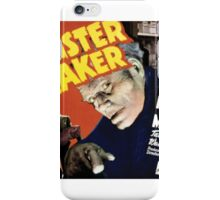Monster Maker Retro Horror Design iPhone Case/Skin