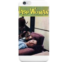 The Wasp Woman Retro B Movie Horror Design iPhone Case/Skin