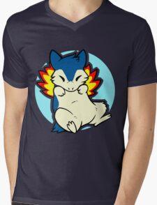Typhlosion Mens V-Neck T-Shirt