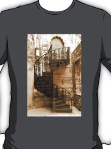 cast iron (stair) case - {no caption} T-Shirt