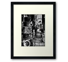 Tin Pan Alley Framed Print