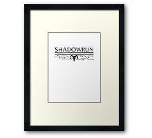 Shadowrun Framed Print