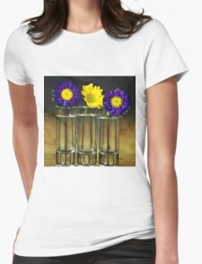 Three vase Womens Fitted T-Shirt