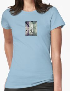 Blossoms in pencil Womens Fitted T-Shirt