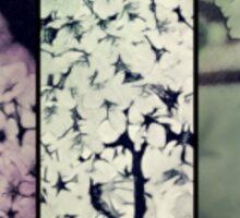 Blossoms in pencil Sticker