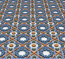 Ceramic Pattern 3D by stingingeyes