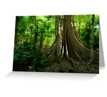 Fig Forest Greeting Card