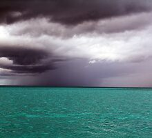 A Turquoise Storm by Michelle Welch