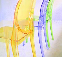 spoon chairs by Christopher Biggs