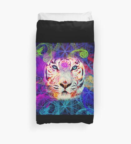 Psychadelic Tiger Duvet Cover