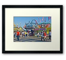 An Afternoon at the Ex Framed Print