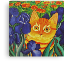 Vincent's Cat Canvas Print
