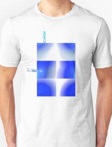 Blue armour plates T-Shirt