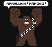 Rrrruugh! Arrggg! (Chewbacca) by leidemera