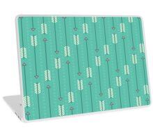 Arrows_Turquoise Laptop Skin