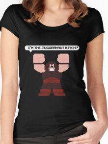 I'm the Juggernaut Bitch! Women's Fitted Scoop T-Shirt