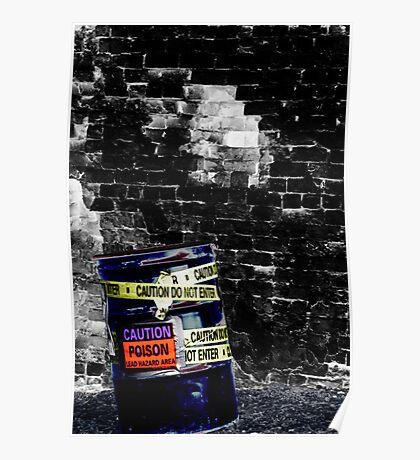 Toxic Alley Barrel 1 Poster