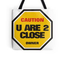 Traffic Sign Tote Bag