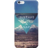 Just Take A Nap iPhone Case/Skin