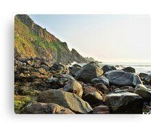 Rocky Coastline - Alderney Canvas Print