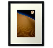 Moon Over Glamis Framed Print