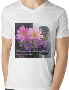 Adventures Mens V-Neck T-Shirt