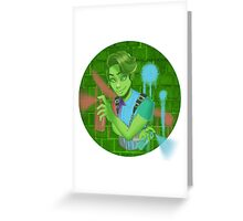 Monster high Haunted Porter Geiss  Greeting Card