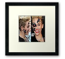 Miley Cyborg Framed Print