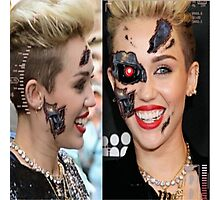 Miley Cyborg Photographic Print