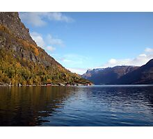 Luster Fjord Photographic Print