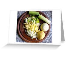 Leek & Potato Soup Greeting Card