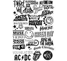 Band Logo Collage by internetokay