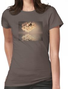 Vintage blossoms Womens Fitted T-Shirt
