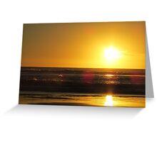 Venus Bay Sunset Greeting Card