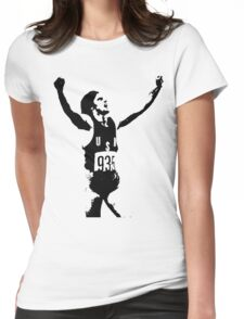 Bruce. Womens Fitted T-Shirt