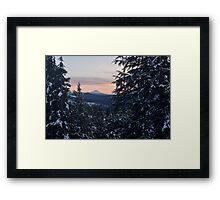Mount McLoughlin, Jackson County, Oregon, USA Framed Print