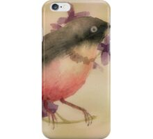 Feathers and Flowers iPhone Case/Skin