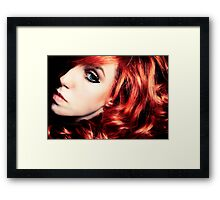 red red red red Framed Print
