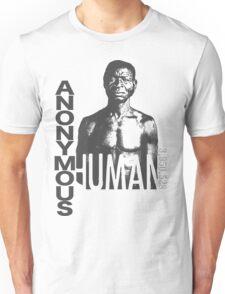 ANONYMOUS HUMAN 001 - Slavery Unisex T-Shirt