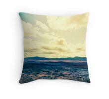 Dublin Mountains Take 2 Throw Pillow