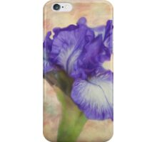 Flower Art - The Meaning Of An Iris iPhone Case/Skin