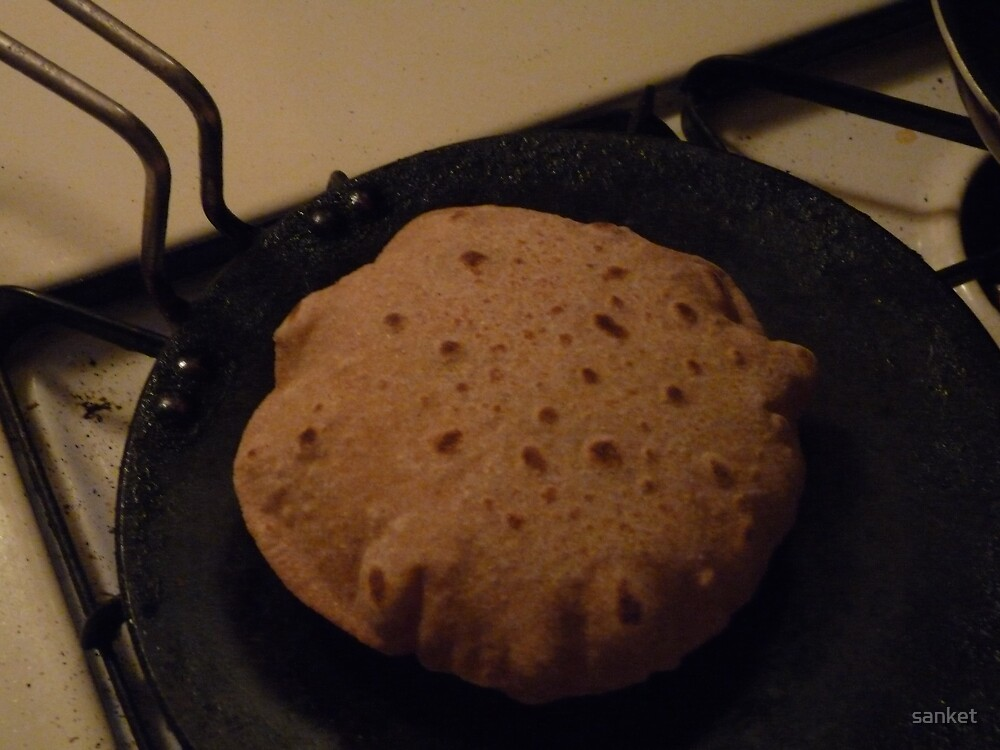Whole Wheat Rotis by sanket