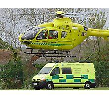 somerset air ambulance Photographic Print