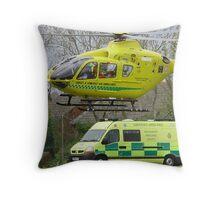 somerset air ambulance Throw Pillow