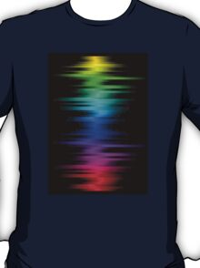 BRIGHT COLOR DIGITAL SOUND WAVES T-Shirt