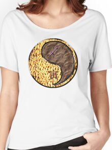 Sagittarius & Tiger Yang Earth Women's Relaxed Fit T-Shirt