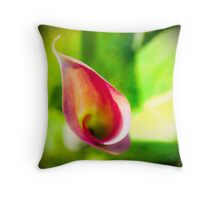 Cal A. Lilly  Throw Pillow