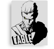 Marvel Cable - Nathan Summers Canvas Print